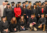 Thirty Adult Basic Education students in East Mississippi Community College's Launch Pad program received their high school equivalency diplomas.