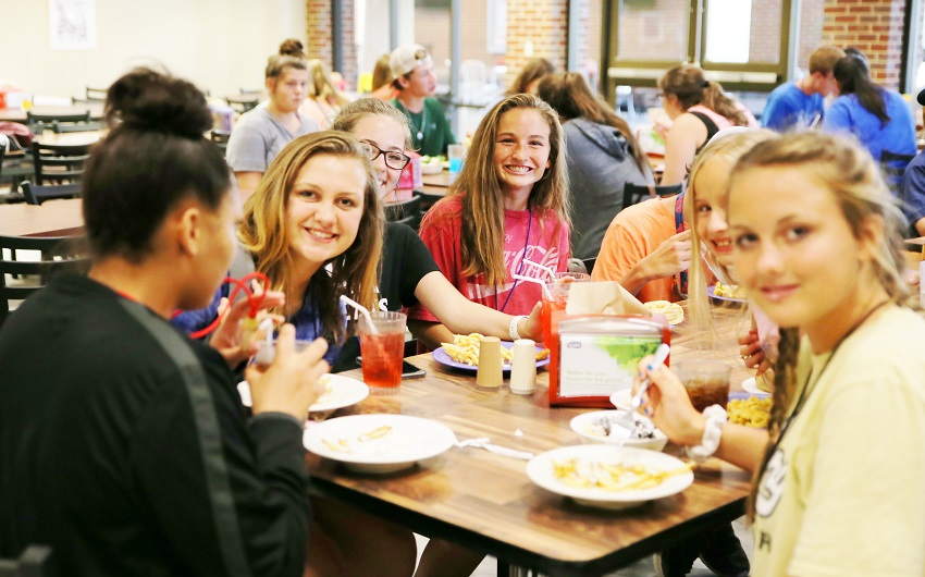 Children, pastors and chaperones from churches across Mississippi are taking part in the annual Ikthoos Camp held each summer on East Mississippi Community College's Scooba campus.
