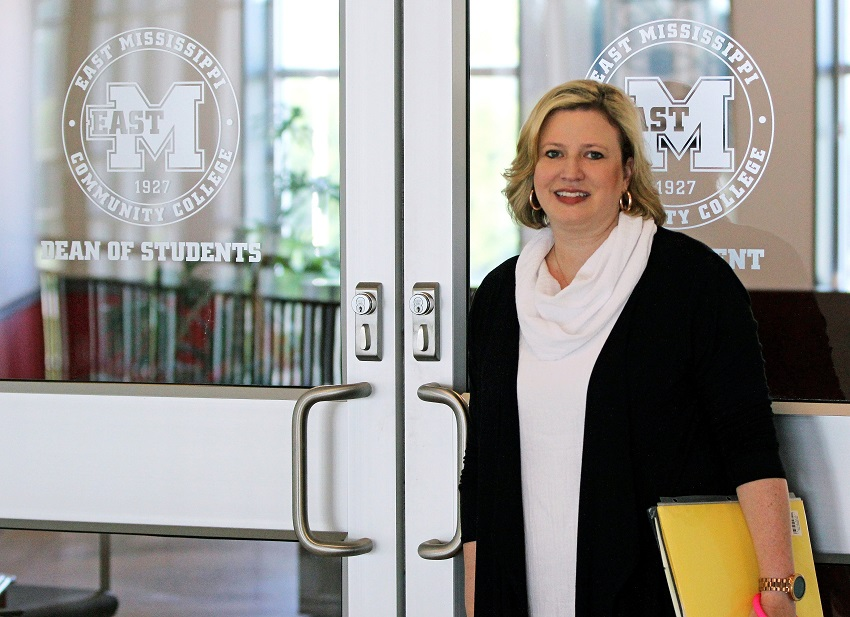 Longtime East Mississippi Community College administrator Dr. Melanie Sanders has been named dean of students for the college's Golden Triangle campus.