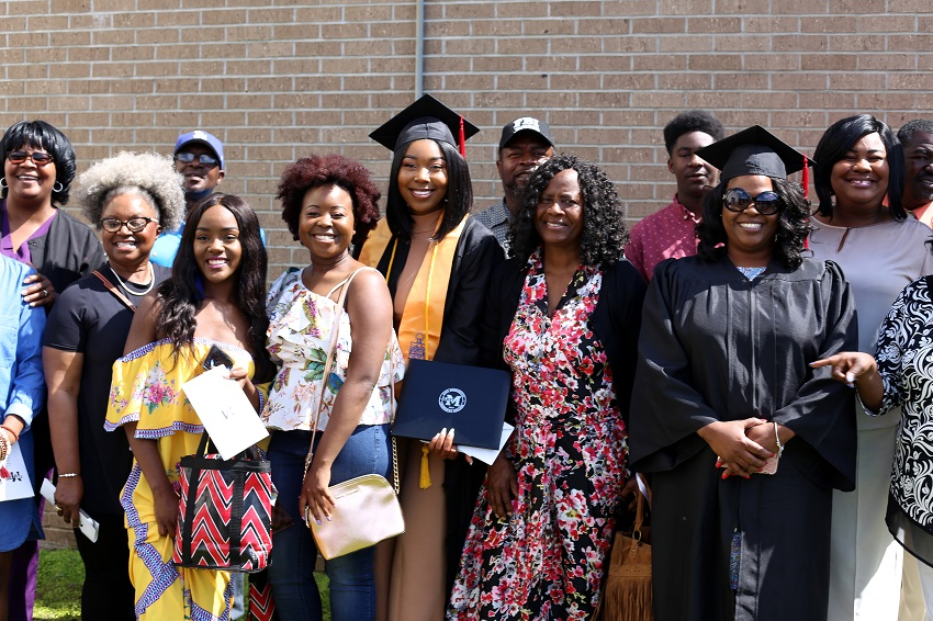 East Mississippi Community College held spring 2018 graduation ceremonies May 8 at the college's Golden Triangle and Scooba campuses.