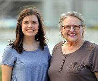 East Mississippi Community College Speech instructor Sandy Grych and EMCC student Emilee Wilcox were named William Winter Scholars Feb. 23 at the 29th Annual Natchez Literary and Cinema Celebration.