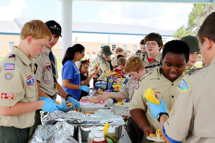 EMCC HOSTS BOY SCOUTS OF AMERICA 'CAMPOREE'