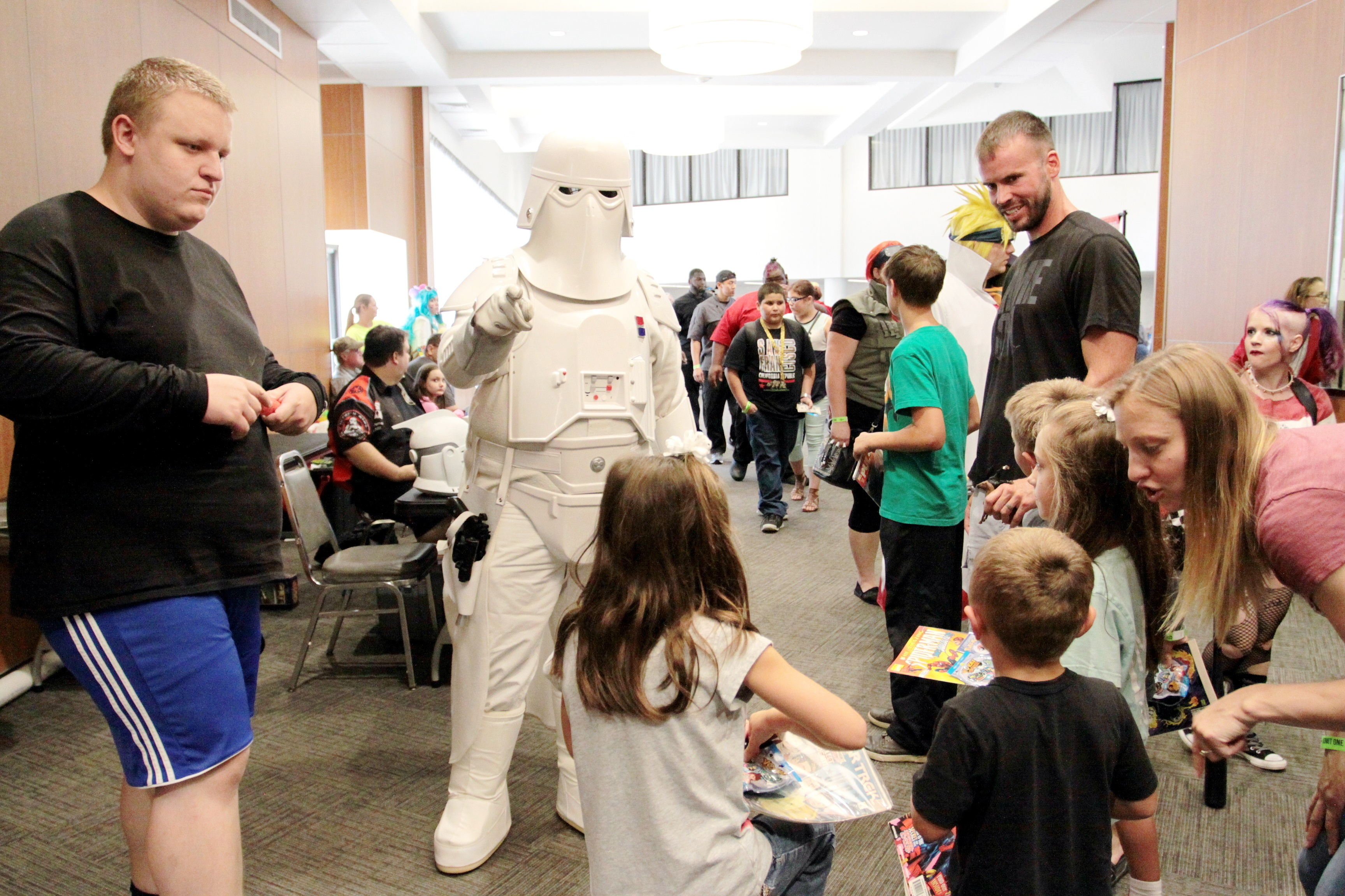 The Golden Triangle Comic-Con, a gaming, sci-fi and cosplay event that combines popular culture genres, returns to the Trotter Convention Center in Columbus Saturday, Aug. 18. Doors open at 10 a.m.