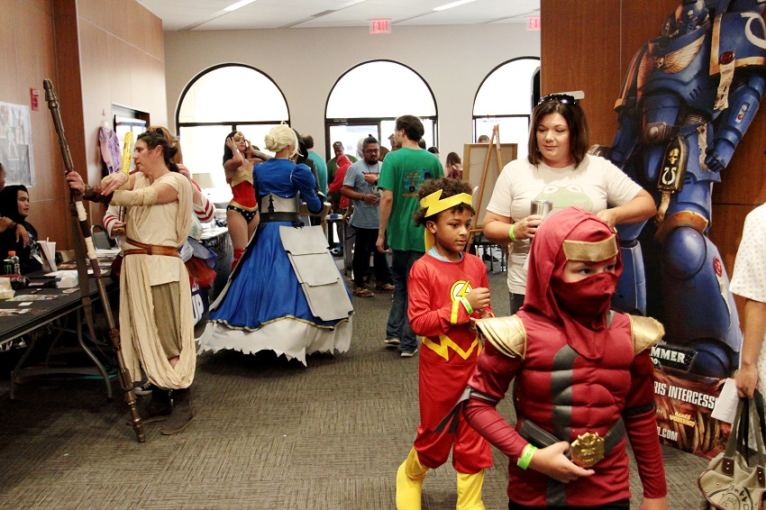 Attendees of the 2017 Golden Triangle Comic-Con dress up as a book, movie or video game character. The 2018 Golden Triangle Comic Con returns Aug. 18 to the Trotter Convention Center in Columbus.