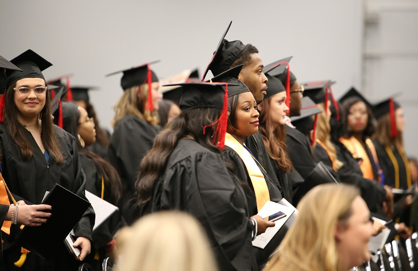 East Mississippi Community College held fall 2018 graduation ceremonies Dec. 11 at its Scooba and Golden Triangle campuses.
