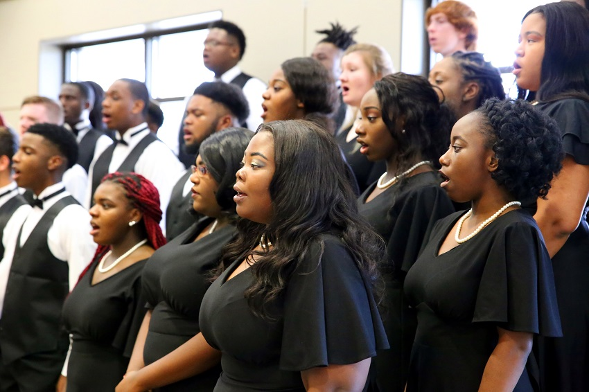 Members of East Mississippi Community College's Concert Choir will perform during the college's Fine Arts Holiday Celebration Nov. 27. The event is free and open to the public.
