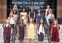 EMCC's 2018 Homecoming Court will be presented during halftime of the No. 1 ranked Lions' football game against Holmes Community College on Saturday, Oct. 13.