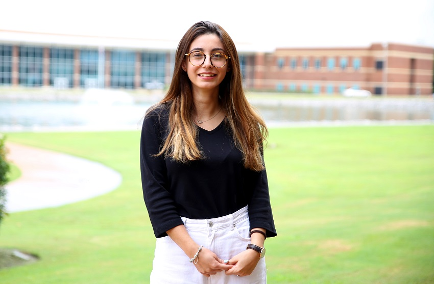 Ferrara, Italy resident Shirli Salihaj is in her first term at EMCC.