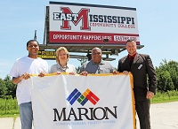 East Mississippi Community College will begin offering classes and services in the town of Marion this fall.
