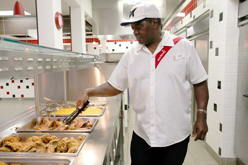 EMCC'S 'MR. JOHNNY' SERVING UP FOOD, HOSPITALITY FOR DECADES