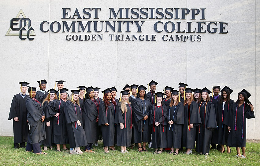 Thirty-one Adult Education students in East Mississippi Community College's Launch Pad program received their high school equivalency diplomas the night of Thursday, May 30, in a graduation ceremony in the Lyceum Auditorium on the college's Golden Triangle campus.