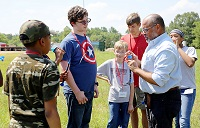 Camp AMP introduces middle and high school students to manufacturing and engineering methods.