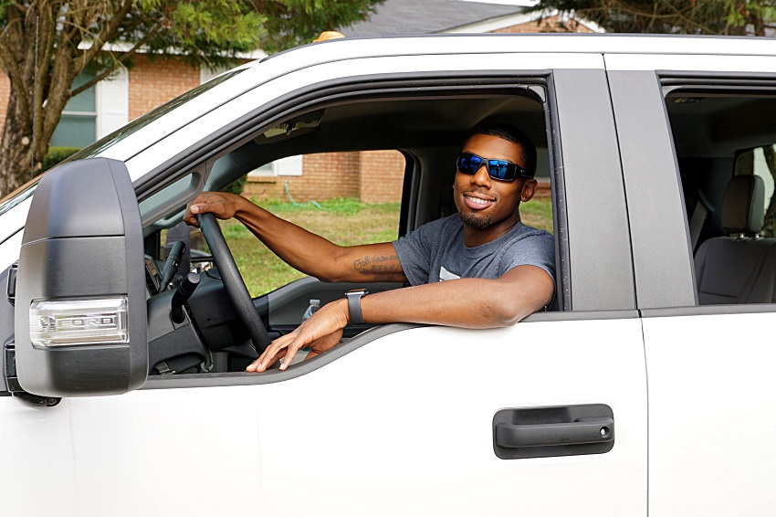 "Corwin ""CJ"" Lawson graduated from East Mississippi Community College's Commercial Truck Driving program a little more than a year ago. After gaining on-the-road driving experience, he is launching his own freight-hauling business."