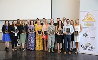 The first formal event at East Mississippi Community College's Communiversity took place June 5 with the 2018-19 Golden Triangle Leadership Program Graduation.