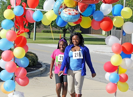 A fun-run and walk will take place April 8 beginning at 4:30 p.m.