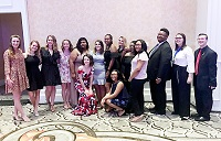East Mississippi Community College's Phi Theta Kappa chapters on the Scooba and Golden Triangle campuses earned recognition at both the Mississippi/Louisiana Region Awards Gala 2019 March 1-2 at Mississippi State University and at PTK Catalyst 2019, the organization's annual international convention held April 4-6 in Orlando, Fla.