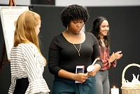 The Beta Iota Zeta Chapter of the Phi Theta Kappa Honor Society on East Mississippi Community College's Golden Triangle campus inducted new members Thursday, Oct. 24, in a ceremony in the Lyceum Auditorium.