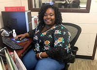 Arianna Love is a graduate of East Mississippi Community College's Steps to Success program, which she now work for. The program, which provides Kemper County youths work experience through internships, was recently awarded a fourth grant by the Southern Mississippi Planning and Development District.