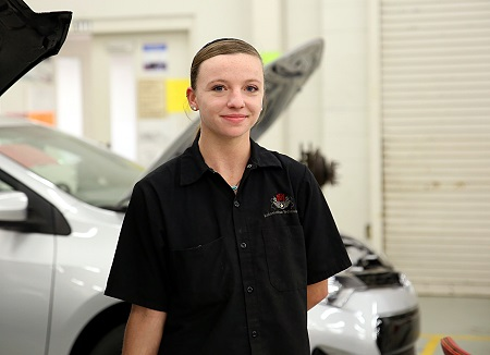 East Mississippi Community College student Fallon Traweek earned a state championship title in the SkillsUSA competition to advance to the nationals, where she earned a bronze medal.