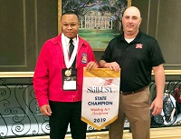 East Mississippi Community College students competing in the Mississippi SkillsUSA Championships in Jackson earned one bronze, three silver and nine gold medals.