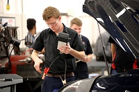East Mississippi Community College hosted the Toyota Express Maintenance Contest for high school students on the college's Golden Triangle campus.