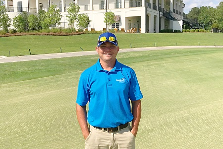 East Mississippi Community College Golf and Recreational Turf Management Technology program graduate Zachary Mozingo was hired by Reunion Golf and Country Club in Madison, Mississippi, which is located north of Jackson.