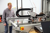 East Mississippi Community College's Engineering Technology, Drafting & Design program now has an industrial-grade 3D printer to train students in additive manufacturing.