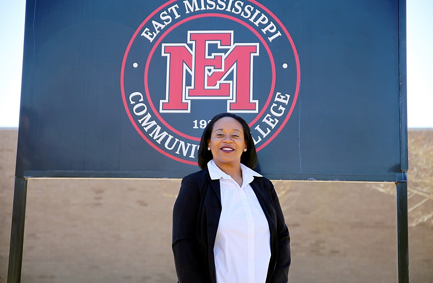 Tammie Holmes was recently hired as the chief financial officer for East Mississippi Community College.