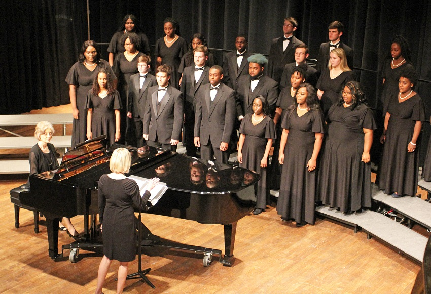 Scholarships are available for East Mississippi Community College's Scooba Concert choir, Reflections and Music Theater.