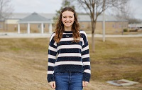 East Mississippi Community College sophomore Belle Ferrebee is among 50 Phi Theta Kappa Honor Society members nationwide named 2020 Coca-Cola Academic Team Silver Scholars.
