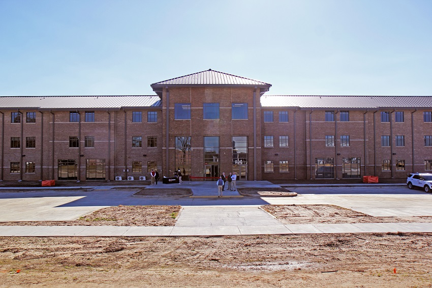 In January, students will begin moving into a new 42,636-square-foot residence hall on East Mississippi Community College's Scooba campus.