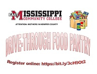 East Mississippi Community College has been awarded a $5,000 grant that will be used in part to create a drive-through food pantry for mothers who reside in Kemper County.