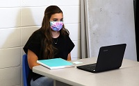 The fall semester at the Golden Triangle Early College High School on East Mississippi Community College's Golden Triangle campus began Monday, Aug. 10, with some students opting for in-class instruction and others choosing to take virtual classes online.