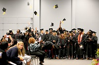 About 35 students enrolled in East Mississippi Community College's Adult Education Launch Pad received their high school equivalency diplomas Wednesday, June 9, during a ceremony in the Lyceum Auditorium on the college's Golden Triangle campus.
