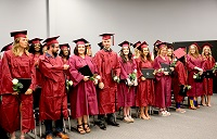 Twenty-four students enrolled in East Mississippi Community College's Barbering/Stylist and Cosmetology programs graduated June 17 in a ceremony on the college's Golden Triangle campus.