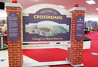 "The Smithsonian Institution's Museum on Main Street traveling exhibition titled ""Crossroads: Change in Rural America"" is open to the public at no charge in the Tubb-May Library on East Mississippi Community College's Scooba campus."