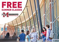 East Mississippi Community College is offering free face-to-face and online classes during the Maymester, Full Summer, Summer Intensive I and Summer Intensive II terms.