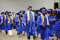 A graduation ceremony for the Golden Triangle Early College High School took place May 15 in the Lyceum Auditorium on East Mississippi Community College's Golden Triangle campus.