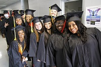About 600 students participated in spring 2021 graduation ceremonies on East Mississippi Community College's Golden Triangle and Scooba campuses.
